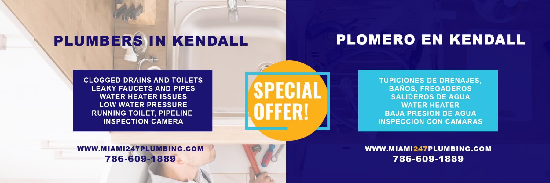 Miami 24/7 Plumbing - Plomero en Kendall