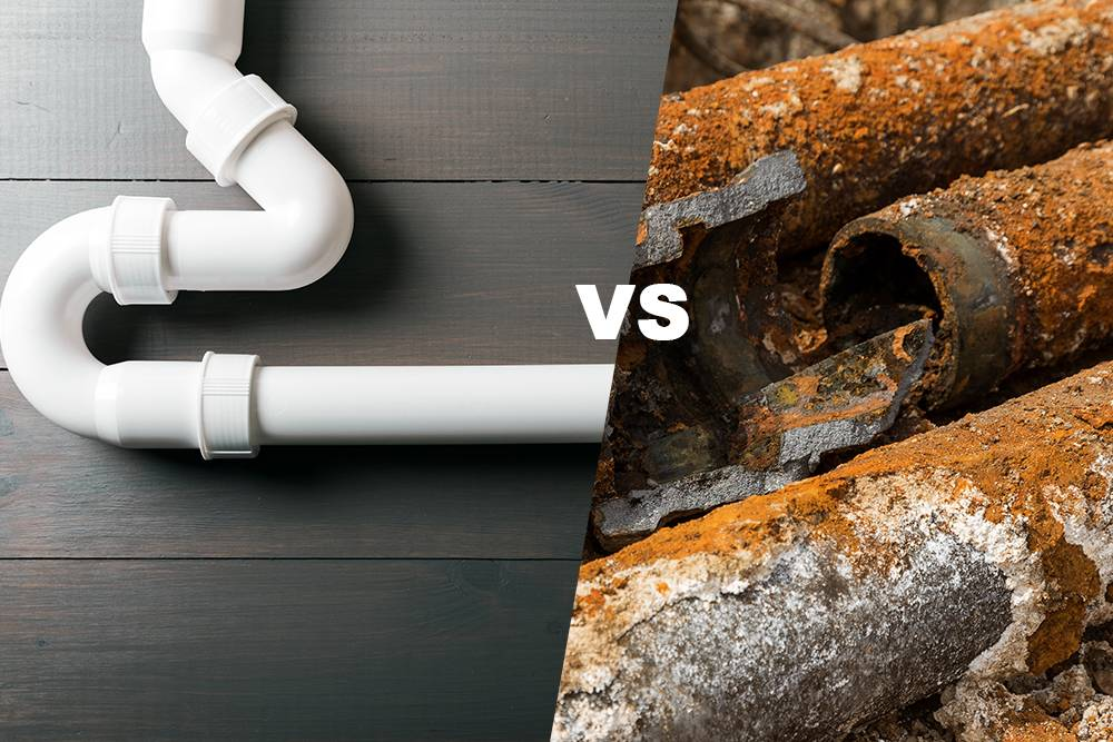 PVC vs Cast Iron Pipes