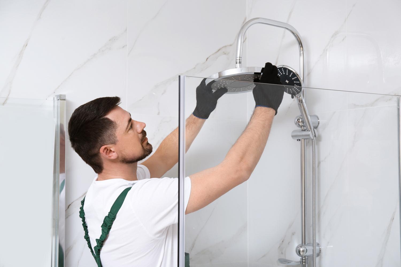Modern Shower Installation